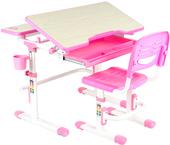 Парта Fun Desk Lavoro (розовый)