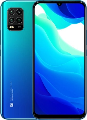 Смартфон Xiaomi Mi 10 Lite 6GB/128GB (синий)