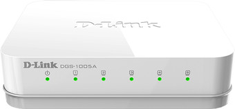 Коммутатор D-Link DGS-1005A/D2A
