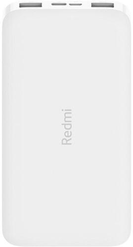 Портативное зарядное устройство Xiaomi Redmi Power Bank 10000mAh (белый, китайская версия)