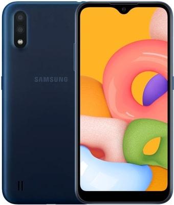 Смартфон Samsung Galaxy M01 3GB/32GB (синий)