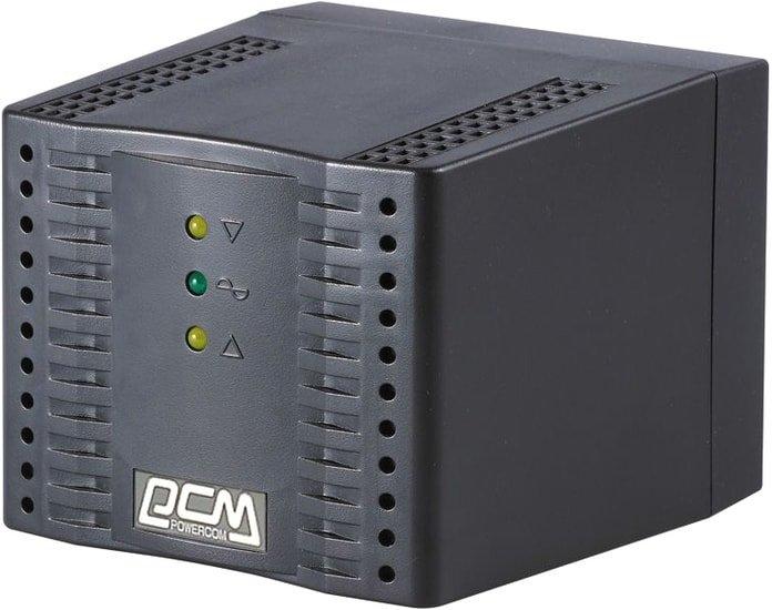 Стабилизатор напряжения Powercom TCA-1200 (черный)