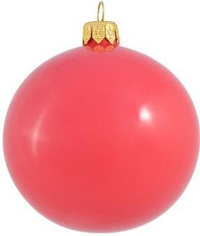 Елочная игрушка Орбитал (темно-коралловый) 200-026-15