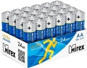 Батарейки Mirex Ultra Alkaline AA 24 шт LR6-B24
