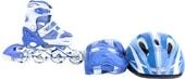 Роликовые коньки Fora LF-606T-BL 27-30 (голубой)