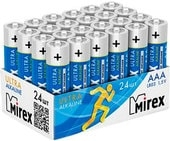 Батарейки Mirex Ultra Alkaline AAA 24 шт LR03-B24