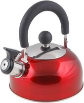 Чайник со свистком Perfecto Linea Holiday (красный) 52-012015