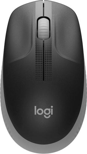 Мышь Logitech M190 (черный/серый)