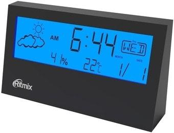 Метеостанция Ritmix CAT-044 (черный)