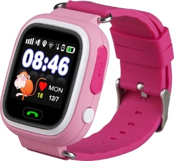 Умные часы Wise Q80 (розовый)