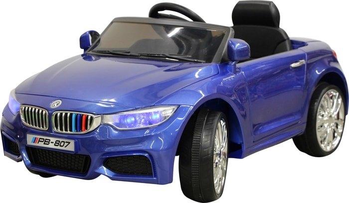 Электромобиль Sundays BMW M4 (синий)