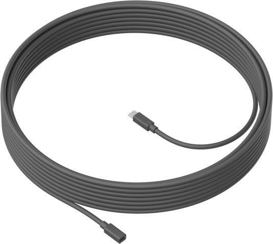 Кабель Logitech MeetUp Mic Extension Cable 10 м