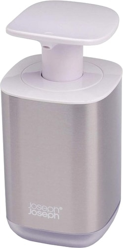 Дозатор для жидкого мыла Joseph Joseph Presto Steel 70532 (белый)