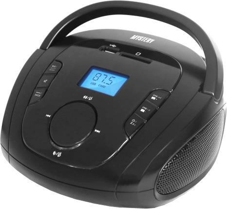 Портативная аудиосистема Mystery BM-6008UB (черный)