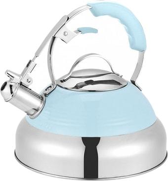 Чайник со свистком MAUNFELD MRK-119BL