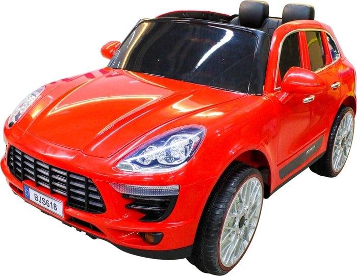 Электромобиль Sundays Porsche Macan (красный)