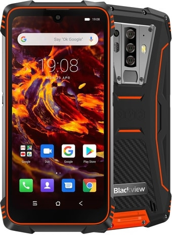 Смартфон Blackview BV6900 (оранжевый)