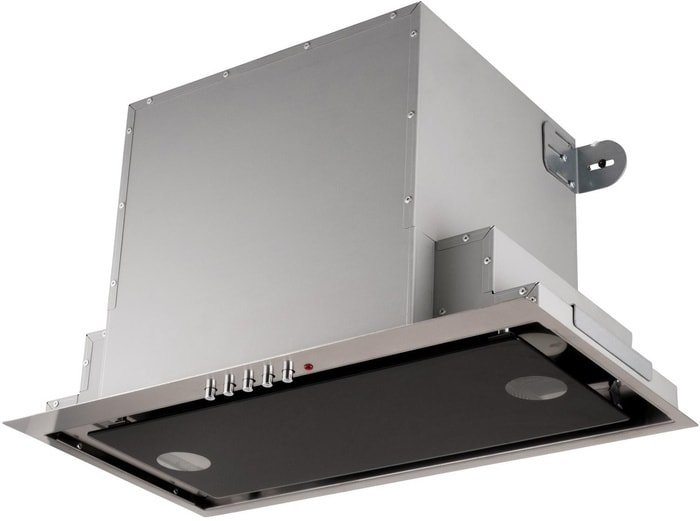 Кухонная вытяжка Akpo Neva glass 60 WK-4 (нержавеющая сталь/черый)