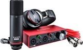 Аудиоинтерфейс Focusrite Scarlett 2i2 Studio (3-е поколение)