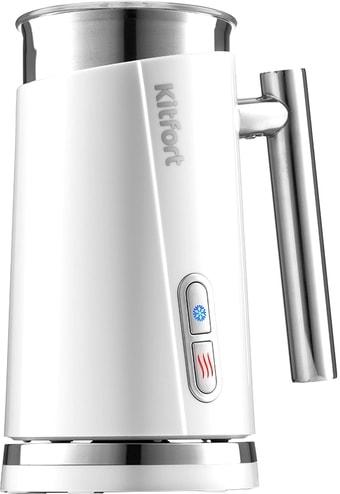 Автоматический вспениватель молока Kitfort KT-751-2 (белый)