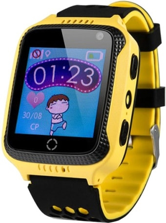 Умные часы Wonlex GW500s (желтый/черный)