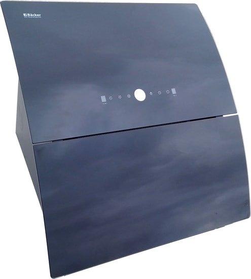 Кухонная вытяжка Backer AH60E-THSL200C Black Glass