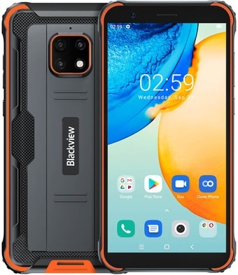 Смартфон Blackview BV4900 Pro (оранжевый)