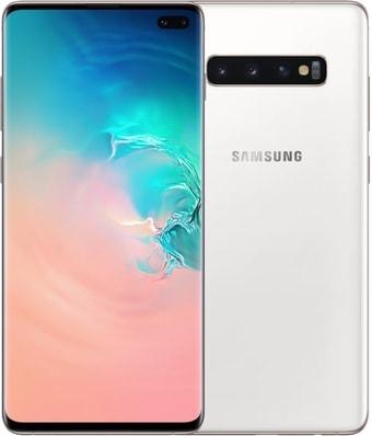 Смартфон Samsung Galaxy S10+ G975 8GB/128GB Dual SIM Exynos 9820 (белая керамика)