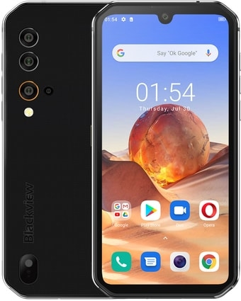 Смартфон Blackview BV9900E (серебристый)