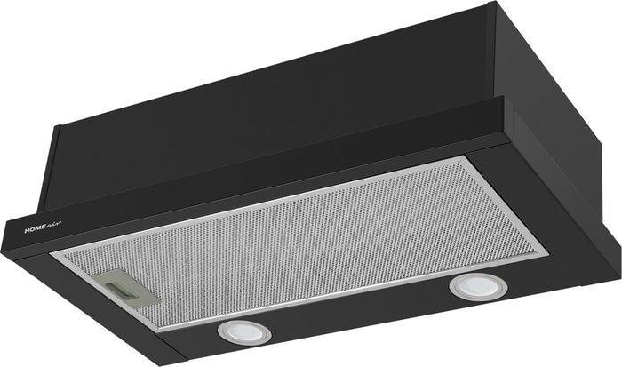 Кухонная вытяжка HOMSair Flat 50 (черный)