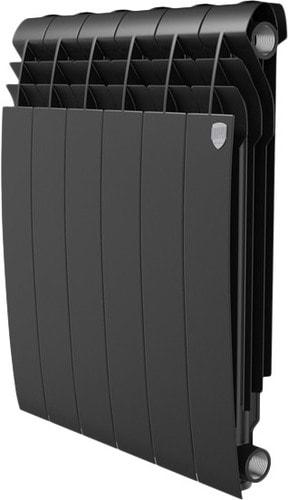 Алюминиевый радиатор Royal Thermo Biliner Alum 500 Noir Sable (4 секции)