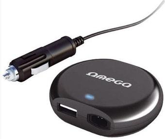 Автомобильное зарядное Omega OZU90O