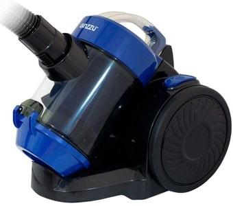 Пылесос Ginzzu VS428 (черный/синий)