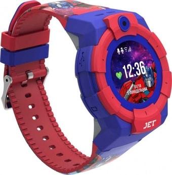 Умные часы JET Kid Transformers Optimus Prime (синий)
