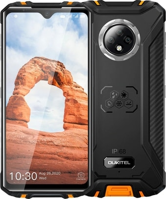 Смартфон Oukitel WP8 Pro (оранжевый)