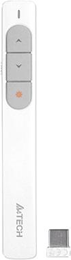 Пульт ДУ A4Tech Wireless Laser Pen LP15 (белый)