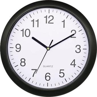 Настенные часы Platinet PZRAB (черный)