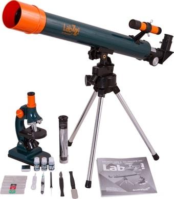 Детский микроскоп, телескоп Levenhuk LabZZ MT2 69299