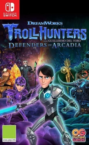 Игра TrollHunters Defenders of Arcadia для Nintendo Switch
