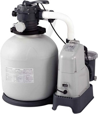 Intex Хлоргенератор с песочным фильтр-насосом 10000л/ч 26680