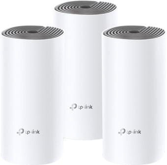 Wi-Fi роутер TP-Link Deco E4 (3 шт.)