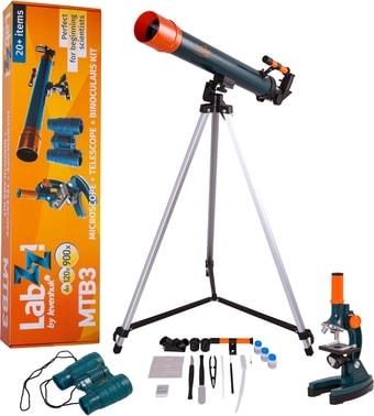 Детский микроскоп, телескоп, бинокль Levenhuk LabZZ MTВ3 69698