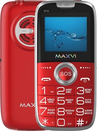 Мобильный телефон Maxvi B10 (красный)