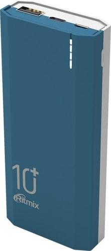Портативное зарядное устройство Ritmix RPB-10002 (синий)