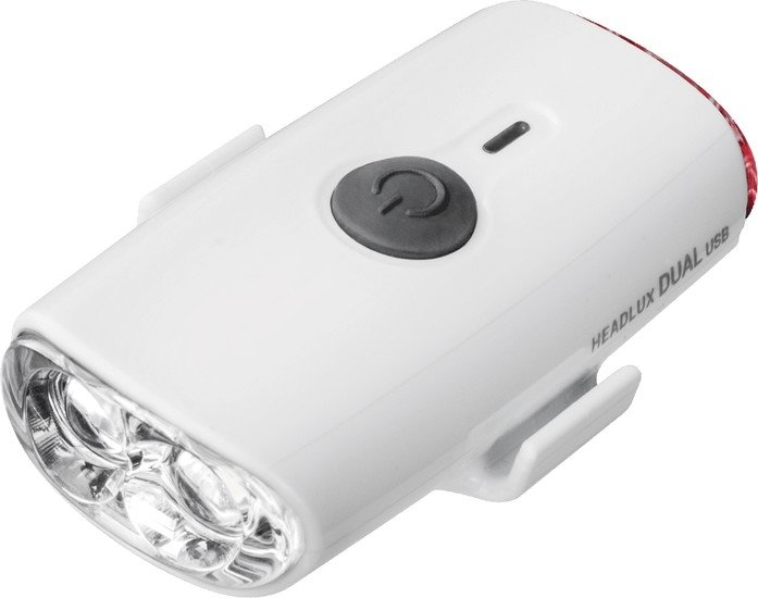 Велосипедный фонарь Topeak Headlux Dual USB (белый)