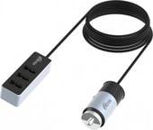 Автомобильное зарядное Ritmix RM-5455 Passenger Gunshell
