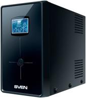 Источник бесперебойного питания SVEN Pro+ 1500 (LCD, USB)