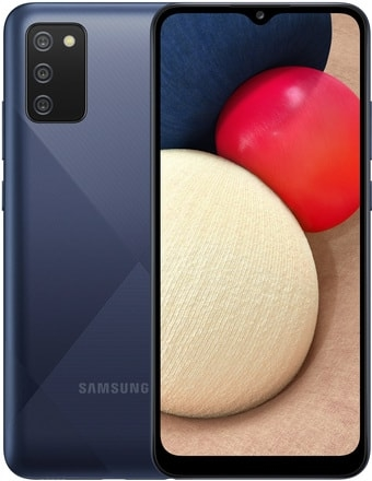 Смартфон Samsung Galaxy A02s SM-A025F/DS (синий)