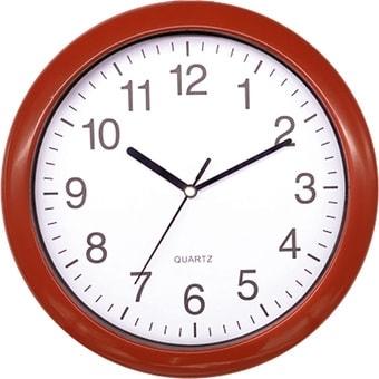 Настенные часы Platinet PZRAR (красный)