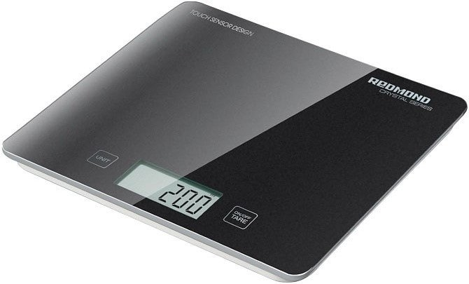 Кухонные весы Redmond RS-724-E (черный)